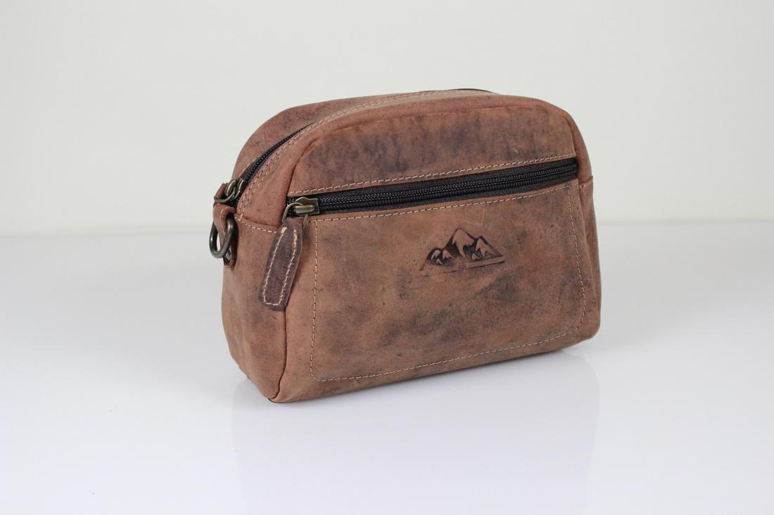 Premium Leder Gürteltasche Bauchtasche von Bayern Bag Hunter Collection